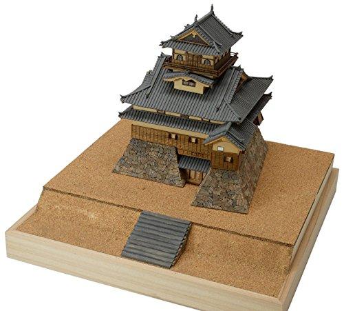 ウッディジョー 1/150 犬山城 木製模型 組み立てキット
