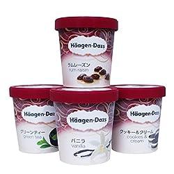 ハーゲンダッツ パイント 473ml選べる3個セット アイスクリーム (new4個バニラ・グリーンティー・クッキー&クリーム・ラムレーズン)