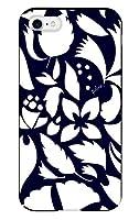 iPhone8 iPhoneケース (ハードケース) [カード収納/耐衝撃/薄型] Plune. (プルーン) モダンカラフルダンスネイビー CollaBorn (iPhone7対応)