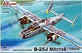 AZモデル 1/72 アメリカ陸軍航空軍 B-25J ミッチェル プラモデル AZM7586