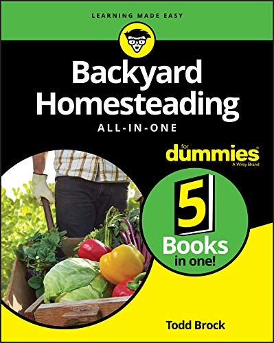 Download Backyard Homesteading All-in-One For Dummies 1119550750