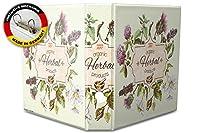 バインダー 2 Ring Binder Lever Arch Folder A4 printed Herbs