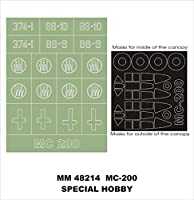 Montex Maxi Mask 1:48 MC 200 for Special Hobby 48033 Spraying Stencil MM48214