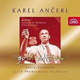 バルトーク:管弦楽のための協奏曲 ヴィオラ協奏曲  (Ancerl Gold 26  Bartok,B.  Concerto for Orchestra, Viola Concerto/J.Karlovsky,CPO/K.Ancerl)