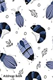 Address Book: For Contacts, Addresses, Phone, Email, Note,Emergency Contacts,Alphabetical Index With Cartoon Bug Beetle Pattern