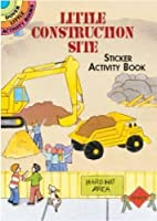 Little Construction Site Sticker Activity Book (Dover Little Activity Books Stickers) by Cathy Beylon(2001-09-04)