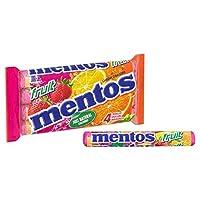 (Mentos (メントス)) フルーツのお菓子4パックあたり (x2) - Mentos Fruit Sweets 4 per pack (Pack of 2) [並行輸入品]