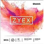D'Addario ダダリオ ウッドベース(コントラバス) 弦 Zyex Set DZ610 3/4M Medium Tension 【国内正規品】