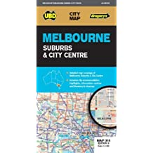 Melbourne Suburbs & City Centre Map 318 9th ed