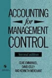 Accounting for Management Control (The Routledge History of Economic Thought Series) 画像