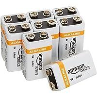 Amazonベーシック 乾電池 アルカリ 9V形8個パック