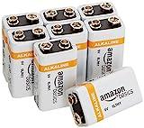 Amazonベーシック アルカリ乾電池 9V形8個パック