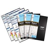 - 病歴・身体データノート - 病歴・身体データ・ノート 100医療情報テンプレート 綴穴あり ブラック