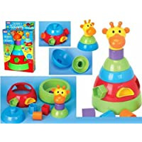 Jerry the Giraffe Shape Sorter and Stacker by Funtime