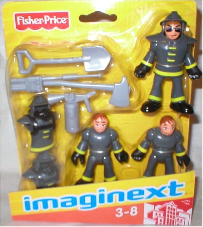 [フィッシャープライス]Fisher-Price Imaginext Firefighter Figures with Tools N2158 [並行輸入品]