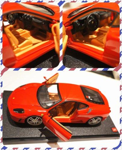 FERRARI フェラーリ F430 赤 hotwheels ホットウィール 1:18【並行輸入品】