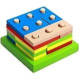 ベビー積み木? 積木? つみき? ツミキ 知能幾何学ダイヤブロック