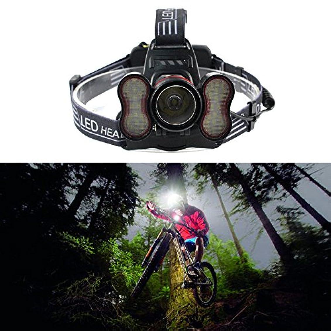 ピケ傘どのくらいの頻度で発信スタイルの楽しみ30000LM XM-L T6 39LEDセンサーヘッドランプマイクロUSBフィッシングヘッドライト懐中電灯