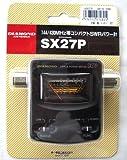 第一電波工業 ダイヤモンド  144/430MHz帯コンパクトSWRパワー計 SX27P