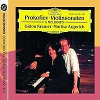 PROKOFIEV/ VIOLIN SONATAS