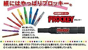 三菱鉛筆 水性ペン プロッキーツイン 10色 PM150TR10CN