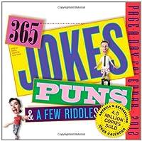 The Original 365 Jokes, Puns, & a Few Riddles 2012 Calendar (Page a Day Calendar)