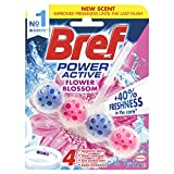 Now with +40% freshness, the innovative formula of Bref Power Active has 4 powerful functions which will help keep your toilets thoroughly clean and fresh withthe combined actions of hygienic foam, stain removal, dirt protection and extra fra...