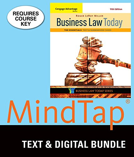 Download Business Law Today: The Essentials 1337061832