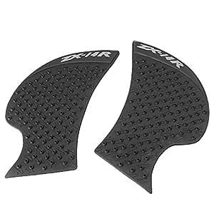 GZYF バイク用 ニーグリップパッド サイド タンクパッド 対応車種(カワサキ ZX-14R 06-15年)