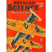 MAGAZINE COVER POPULAR SCIENCE MECHANICS US ARMY PLANES WAR 30X40 CMS FINE ART PRINT ART POSTER 雑誌のカバーカバー人気科学軍飛行機戦争アートプリントポスター