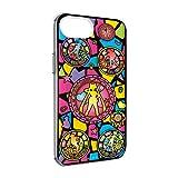 グルマンディーズ バンダイ 「美少女戦士セーラームーン」 IIIIfit(clear) iPhone8/7/6s/6(4.7インチ)対応ケース ステンドグラス柄 slm-137a