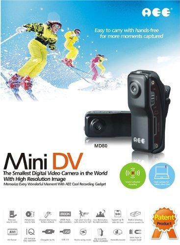 世界最小クラス 超小型 ビデオカメラ miniDV ブラック...