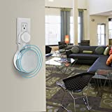 AIスピーカー 壁掛けホルダー Google Home Mini 対応 充電しながら使用可能 壁掛けマウント アクセサリー (ホワイト)