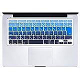 [Mast cart]  Apple MacBook Pro対応 キーボードカバー (日本語 JIS配列) MacBook Pro 13インチ 15インチ Wireless Keyboard対応 [ダークブルーグラデーション]