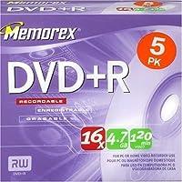 Memorex DVD+R 16x 5 Pack (Discontinued by Manufacturer) by Memorex [並行輸入品]