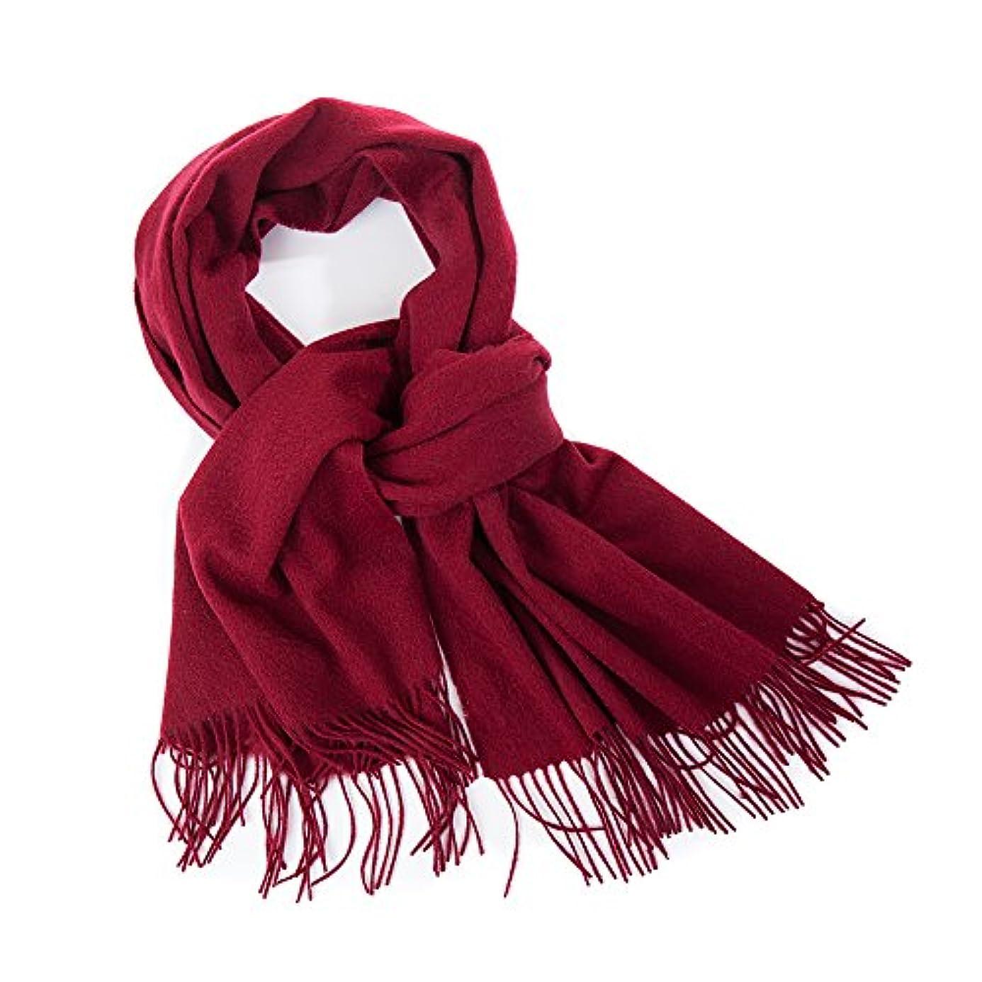 抑圧乳ハプニングカシミヤショール カシミヤマフラー -Mishine ソリッドカラーの女性スカーフ?ショール