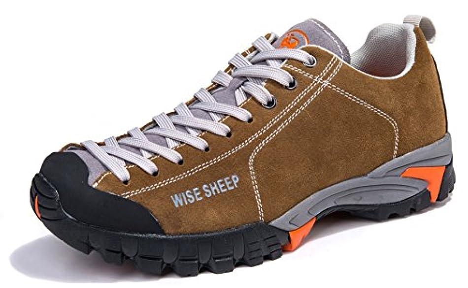 ナット注ぎます知るワイズシープ(Wise Sheep)ハイキングシューズ 本革 牛革メンズ トレッキングシューズ トレイルヘッド アウトドア トレッキング ハイキング 正規品#5572