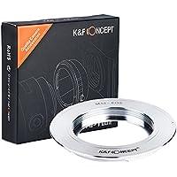 K&F Concept® マウントアダプター M42マウントレンズ- Canon EOSカメラ装着用レンズアダプターリング M42-EOS