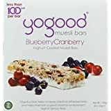 yogood Blueberry Cranberry Muesli Bars, 138g