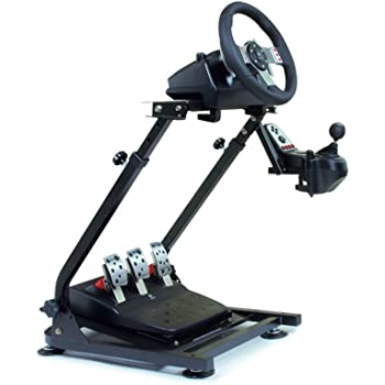AP2 Foldable Racing Wheel Stand + ギアシフター用マウント セット ロジクール G25 G27 G29 G920 対応
