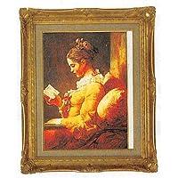 STD 読書する少女 F10 フラゴナール B51-5904