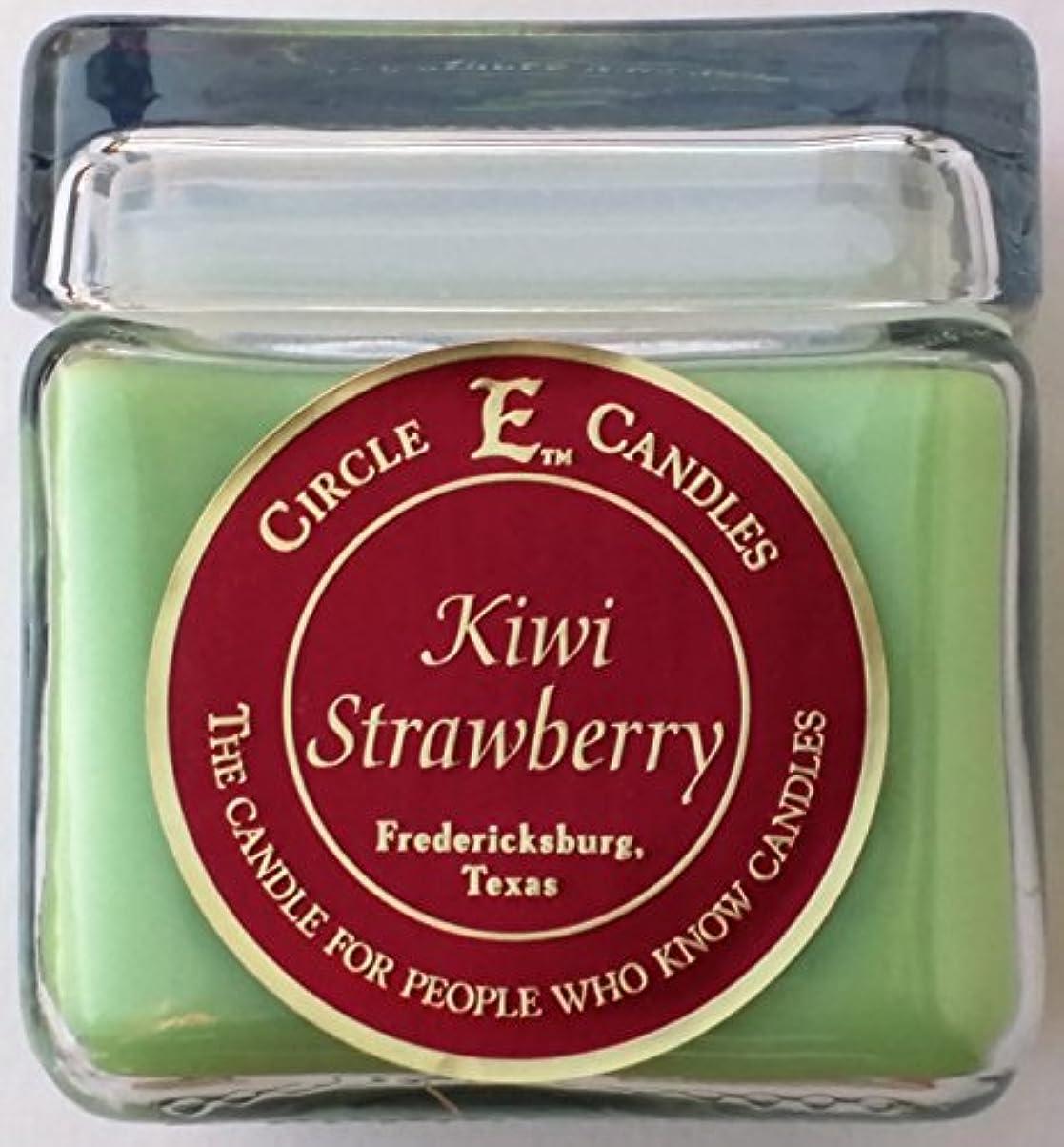 手のひらたとえ命題28oz円E Kiwi Strawberry Candle