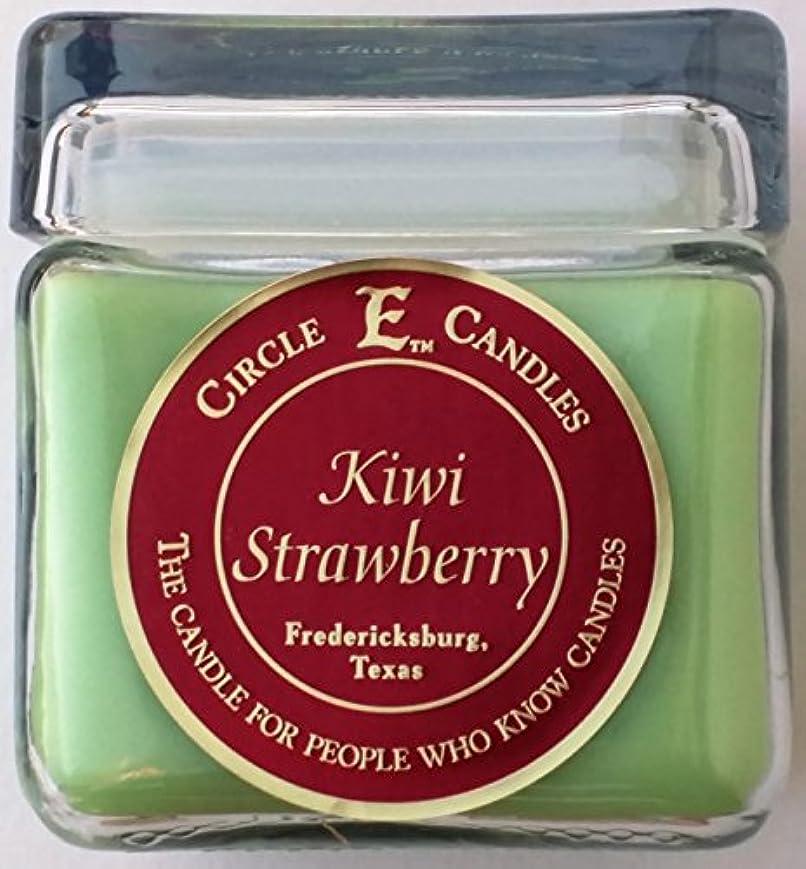 黒スロープ敬意を表する28oz円E Kiwi Strawberry Candle