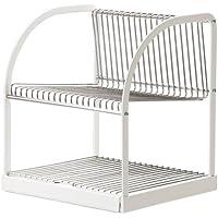 IKEA(イケア) BESTAENDE 水切り シルバーカラー ホワイト