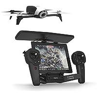 【国内正規品】Parrot ドローン Bebop 2 + Skycontroller 25分飛行時間 1400万画素魚眼カメラ 8GB内部フラッシュメモリー ホワイト PF726143