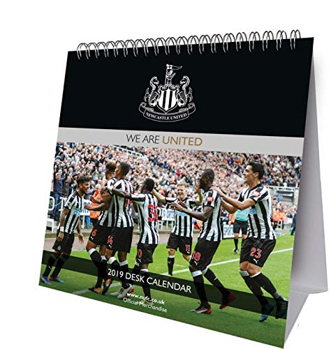 Newcastle Utd Desk Easel Official 2019 Calendar - Desk Easel Format