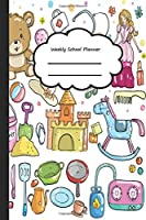 Weekly School Planner: Student Planner | Lessons & Homework | Organizer Agenda Schedule | Weekly School Calendar, Diary and Homework Organizer for Elementary, Middle and High School | For Students and Teachers