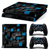 Linyuan 安定した品質 Y17* Full Body Decal Skin Sticker for PlayStation 4 PS4 Console+Controllers