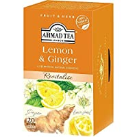 AHMAD TEA レモン&ジンジャー 20P 40g ×3ケース
