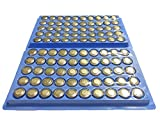 LR44 ボタン電池 100個セット アルカリボタン電池 ゲーム カメラ おもちゃ 電卓 各種 電池交換 用に